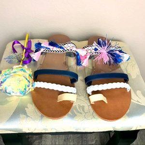 Thong Sandals Women's Flip Flops Size 8 NWOB